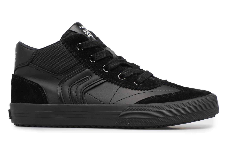 Sneaker Geox J ALONISSO B schwarz ansicht von hinten