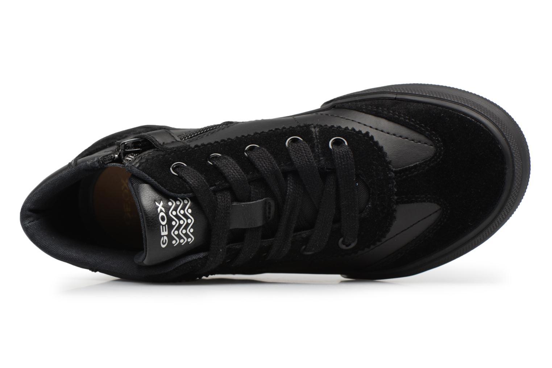Sneaker Geox J ALONISSO B schwarz ansicht von links