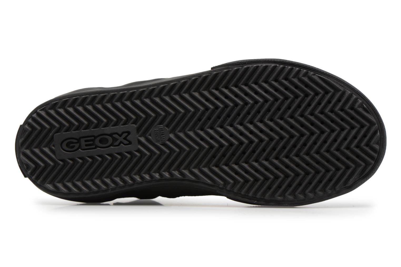Sneaker Geox J ALONISSO B schwarz ansicht von oben