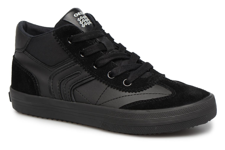 Sneaker Geox J ALONISSO B schwarz detaillierte ansicht/modell