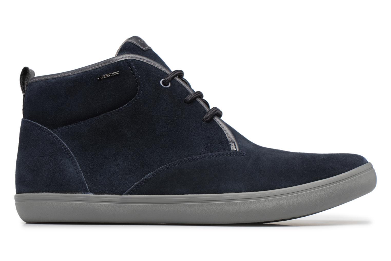 Sneaker Geox U BOX H blau ansicht von hinten