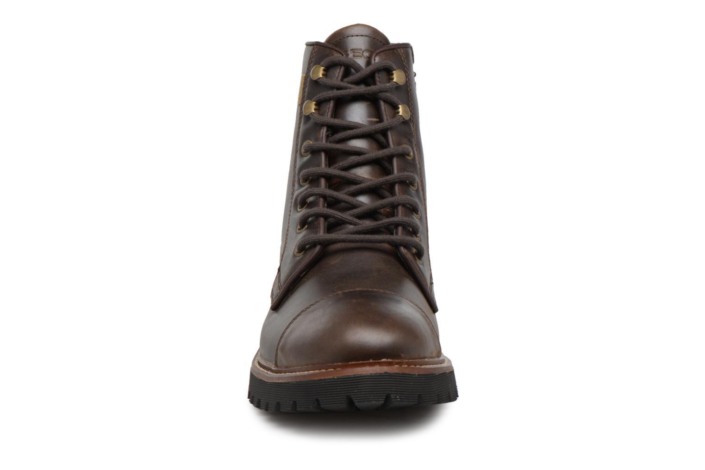 Bottines et boots Geox U KIEVEN B ABX C Marron vue portées chaussures