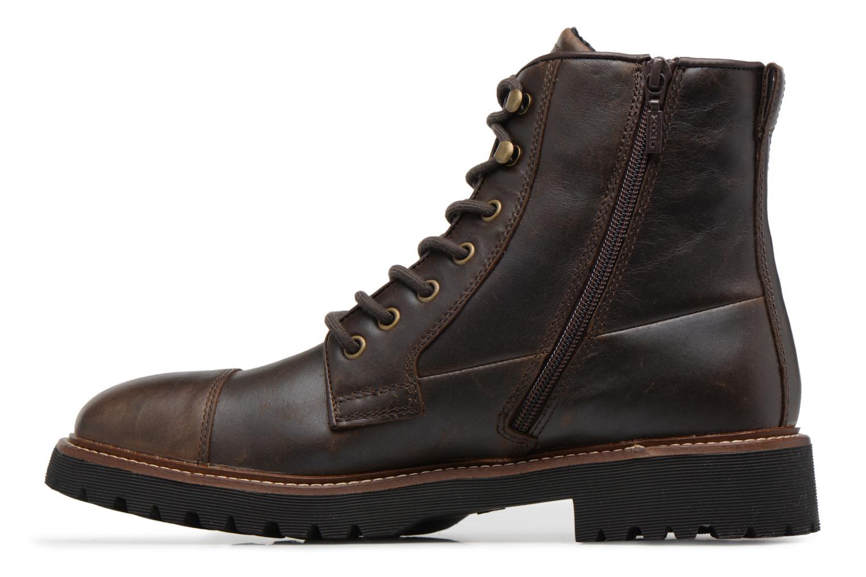 Bottines et boots Geox U KIEVEN B ABX C Marron vue face
