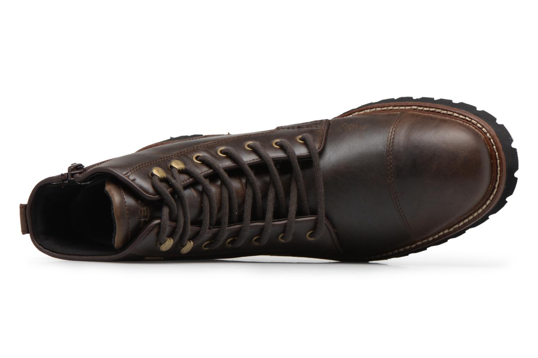 Stiefeletten & Boots Geox U KIEVEN B ABX C braun ansicht von links