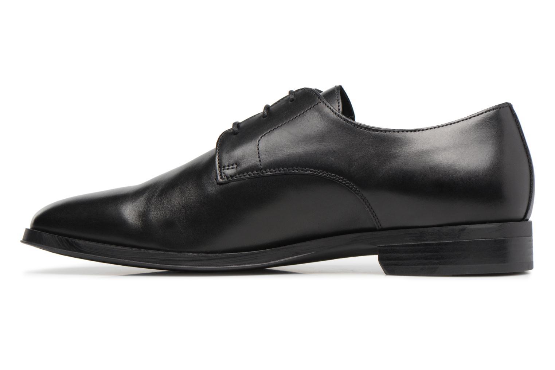 Chaussures à lacets Geox U PERICLE C Noir vue face