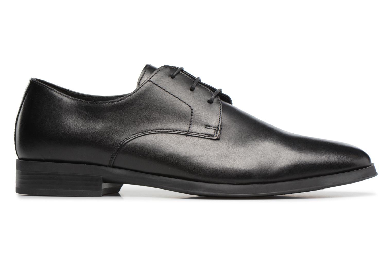 Chaussures à lacets Geox U PERICLE C Noir vue derrière