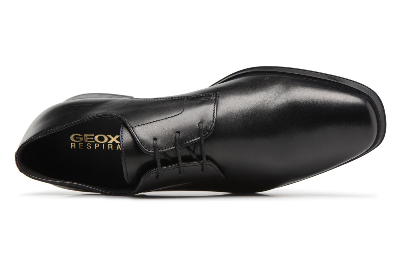 Chaussures à lacets Geox U PERICLE C Noir vue gauche