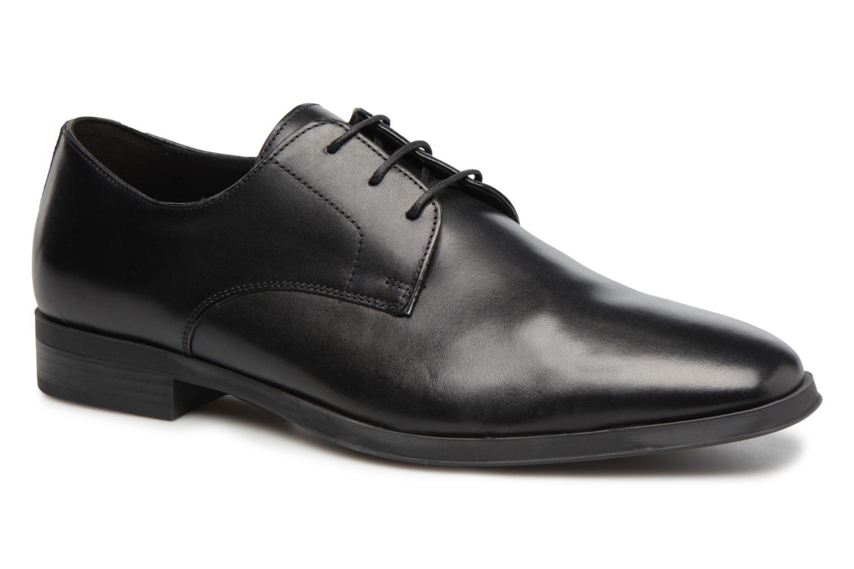 Chaussures à lacets Geox U PERICLE C Noir vue détail/paire