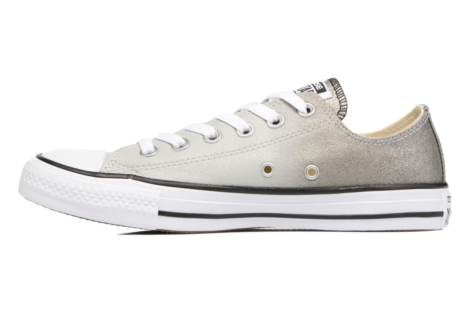 Baskets Converse Chuck Taylor All Star Ombre Metallic Ox W Gris vue face