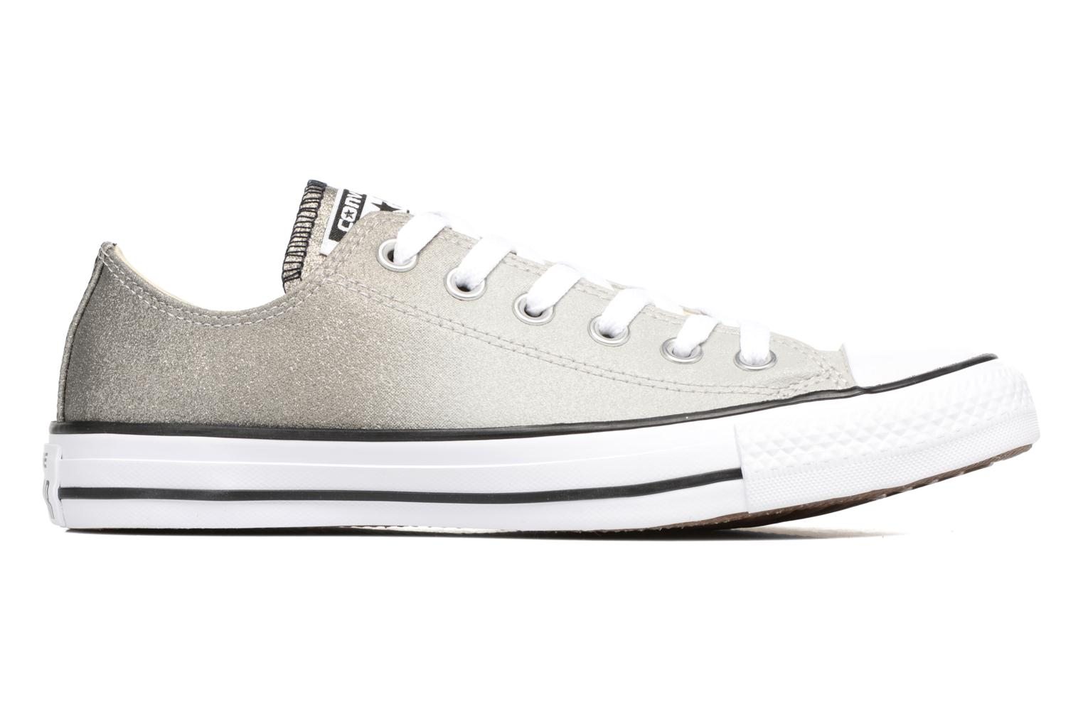 Baskets Converse Chuck Taylor All Star Ombre Metallic Ox W Gris vue derrière