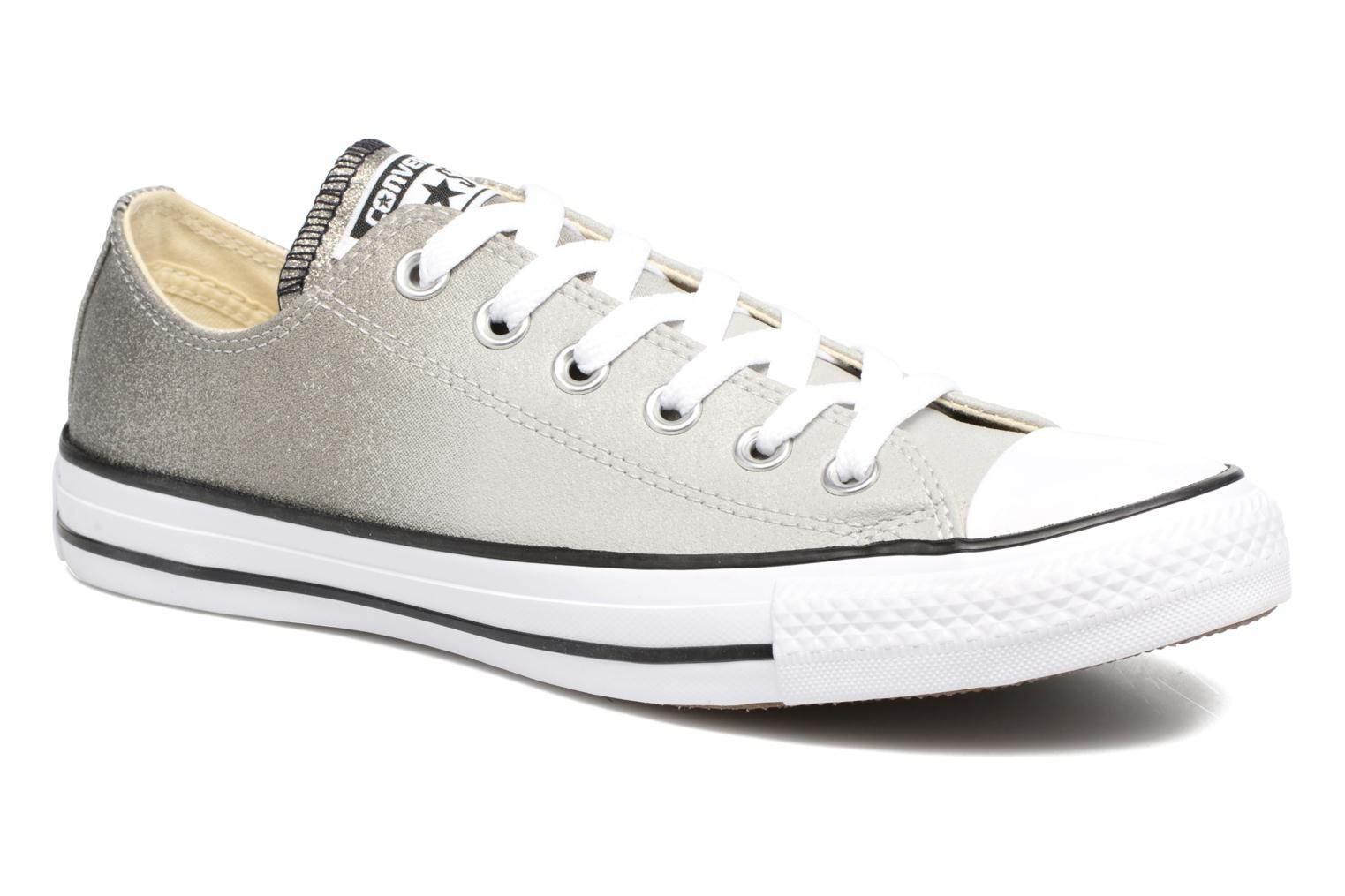 Baskets Converse Chuck Taylor All Star Ombre Metallic Ox W Gris vue détail/paire