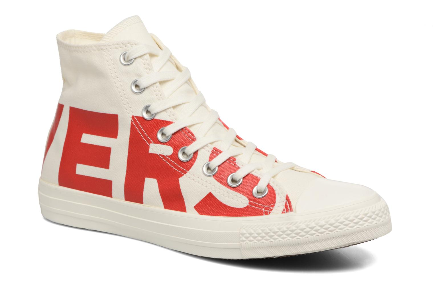 Converse Chuck Taylor All Star Converse Wordmark Hi Blanco