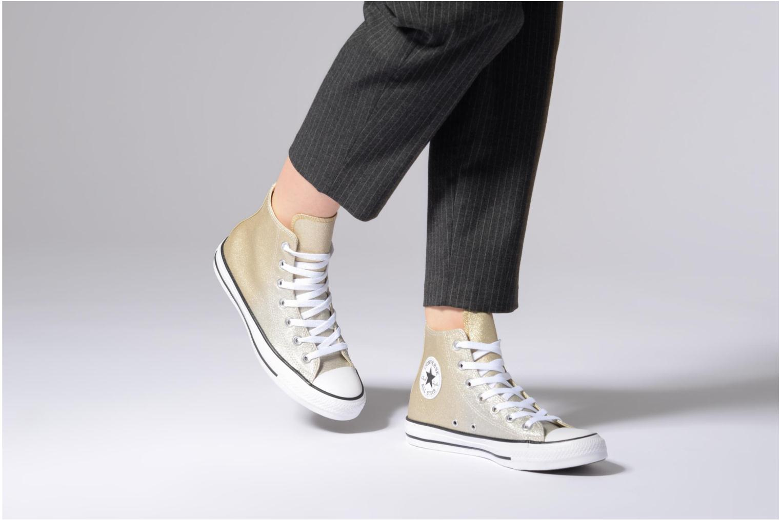 Chuck Taylor All Star Ombre Metallic Hi Light Gold/Aged Gold/White