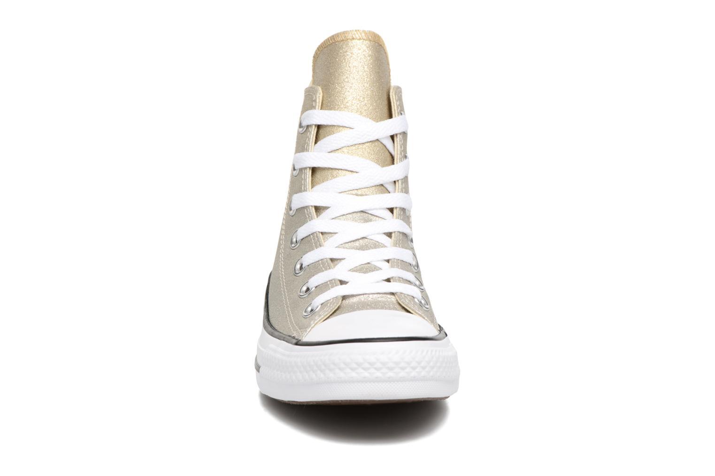 Baskets Converse Chuck Taylor All Star Ombre Metallic Hi Or et bronze vue portées chaussures