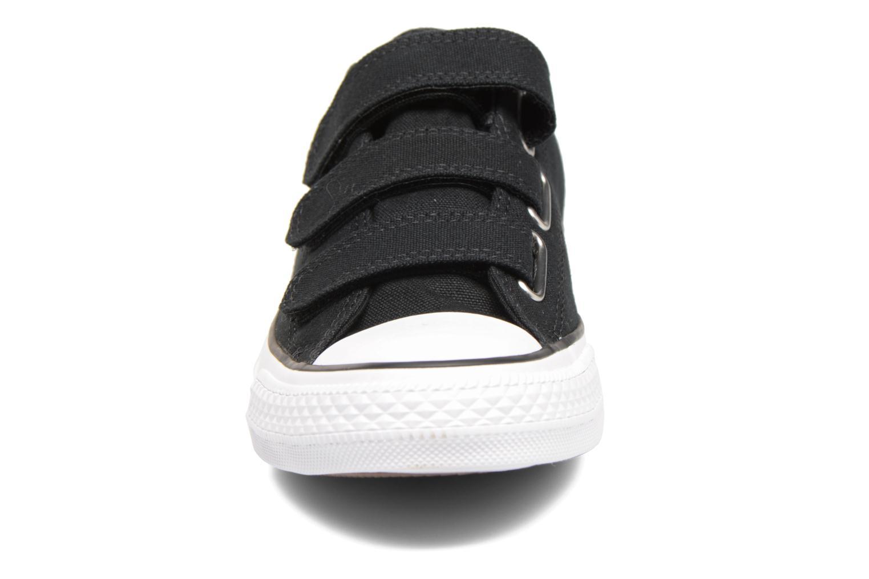 Baskets Converse Chuck Taylor All Star 3V Canvas Ox Noir vue portées chaussures