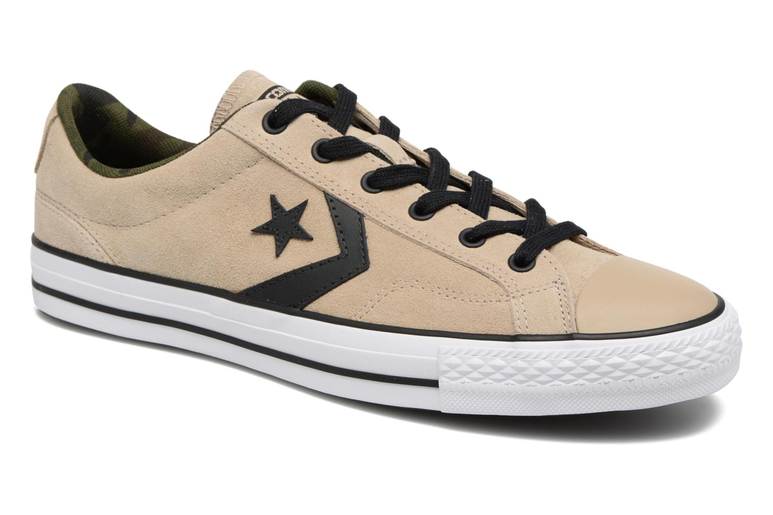 Converse Uomo Giocatori di Star Player OX Beige