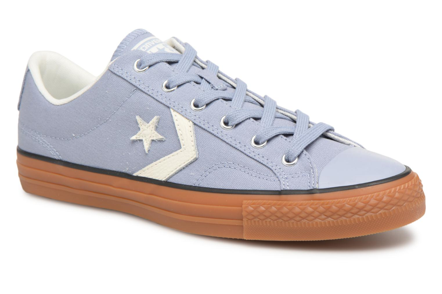 Marques Chaussure homme Converse homme Star Player Streetwear Ox Glacier Grey/Egret/Honey