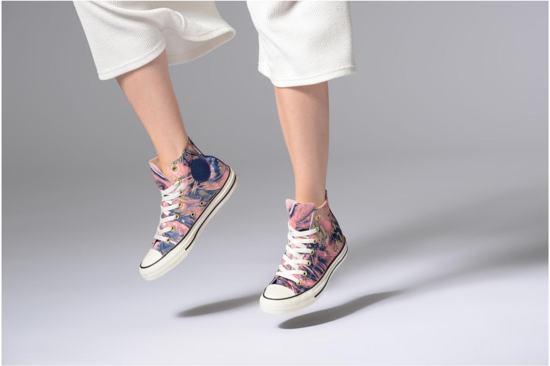 Grandes descuentos últimos zapatos Converse Chuck Taylor All Star Feather Print Hi (Azul) - Deportivas Descuento