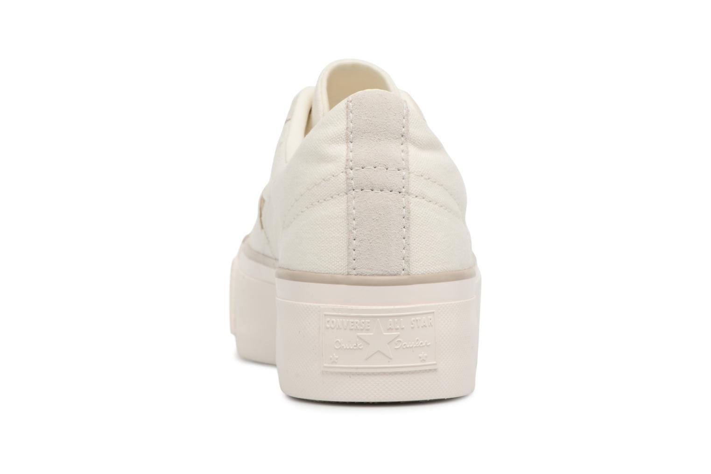 Sneakers Converse One Star Platform Ox Bianco immagine destra