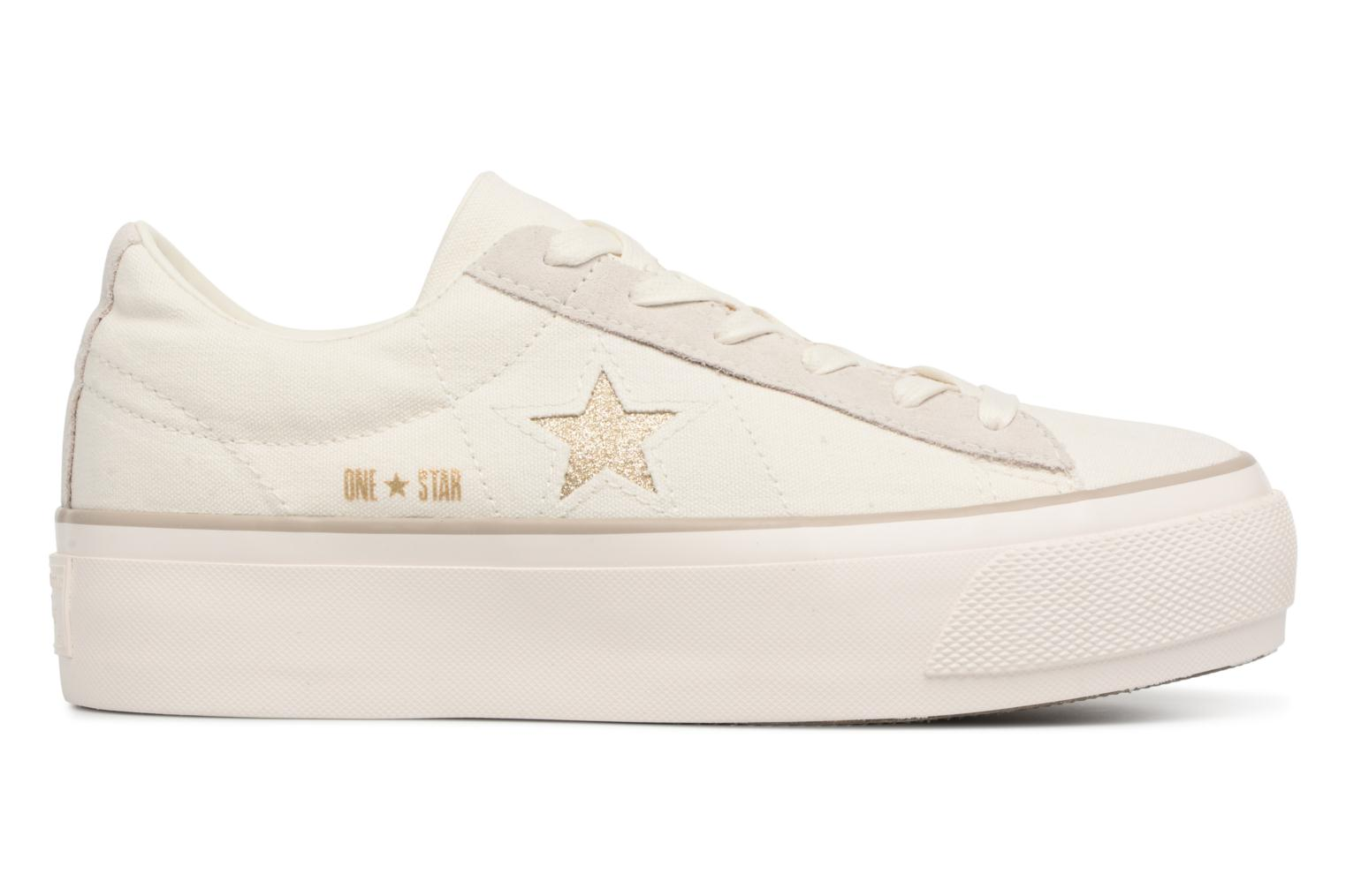 Sneakers Converse One Star Platform Ox Bianco immagine posteriore
