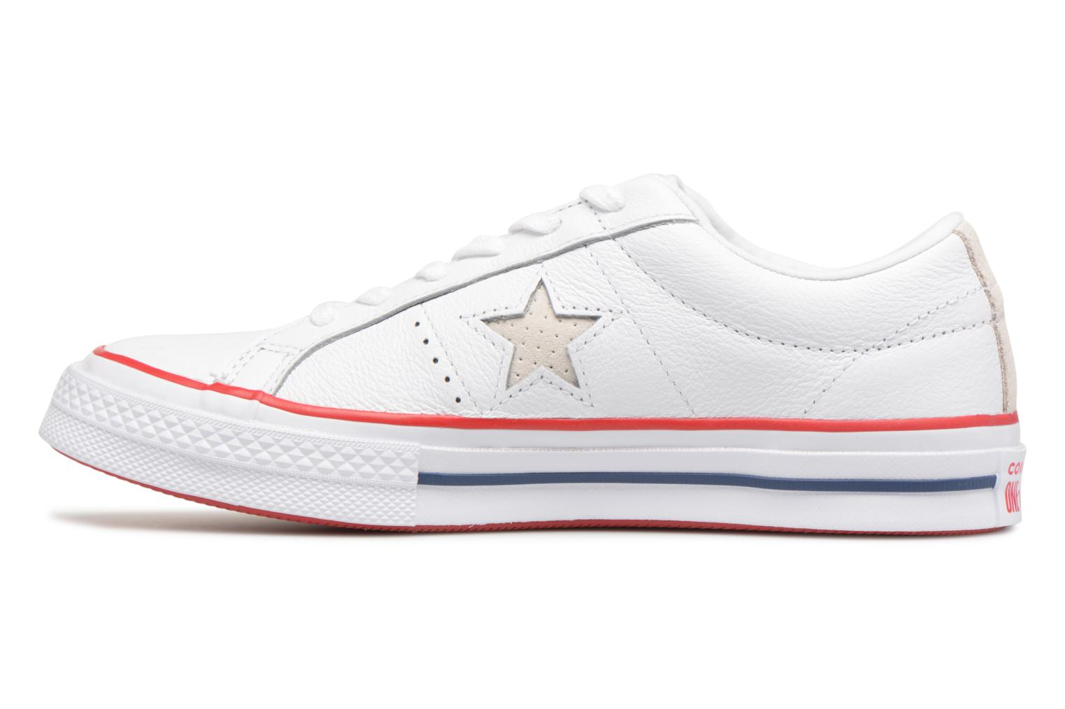 Baskets Converse One Star New Heritage Ox Blanc vue face