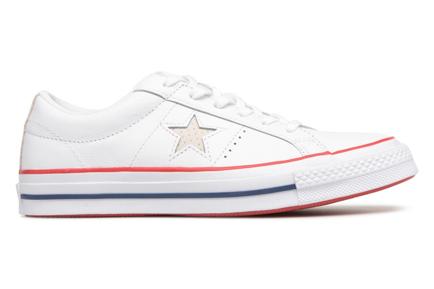 Baskets Converse One Star New Heritage Ox Blanc vue derrière