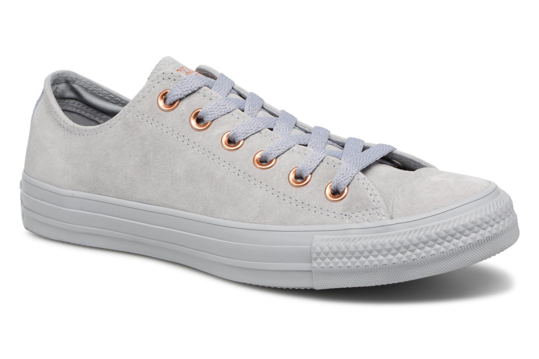 Zapatos cómodos Converse y versátiles Converse cómodos Chuck Taylor All Star Tonal P. Suede Ox (Gris) - Deportivas en Más cómodo 7ed02d