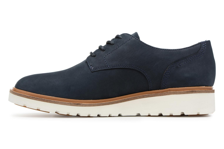 Chaussures à lacets Timberland Ellis Street Lace Up Bleu vue face