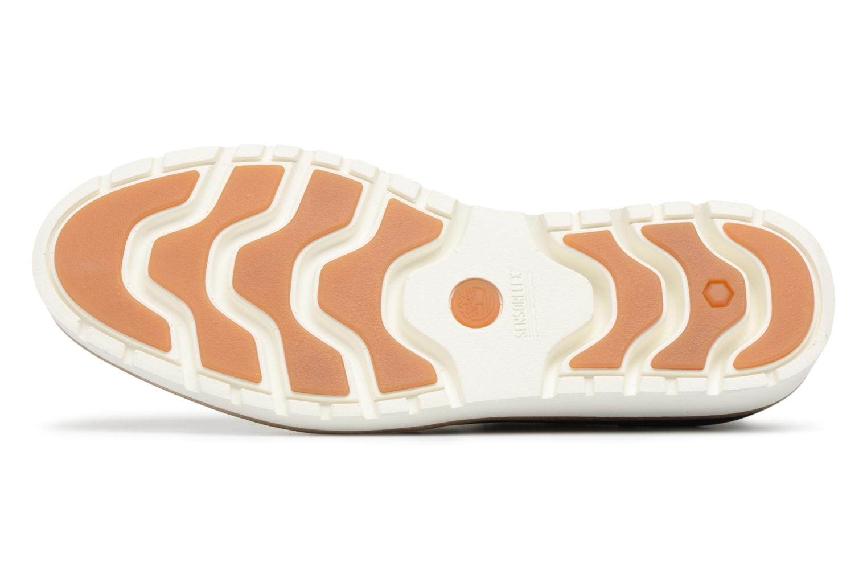 Chaussures à lacets Timberland Ellis Street Lace Up Bleu vue haut