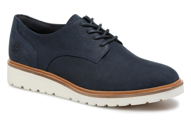 Chaussures à lacets Timberland Ellis Street Lace Up Bleu vue détail/paire