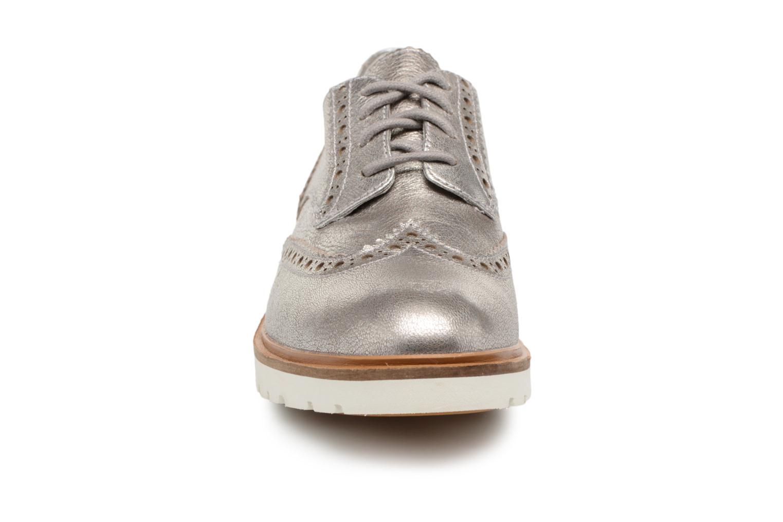 Chaussures à lacets Timberland Ellis Street Oxford Argent vue portées chaussures