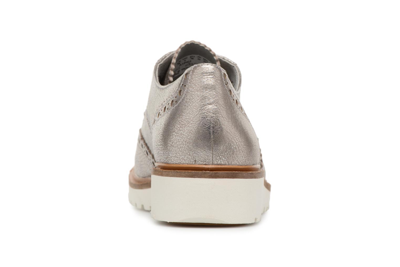 Chaussures à lacets Timberland Ellis Street Oxford Argent vue droite