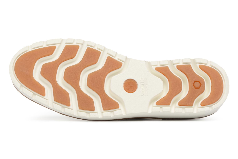Chaussures à lacets Timberland Ellis Street Oxford Argent vue haut