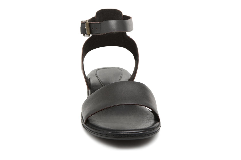 Sandalen Timberland Cherrybrook Sandal braun schuhe getragen