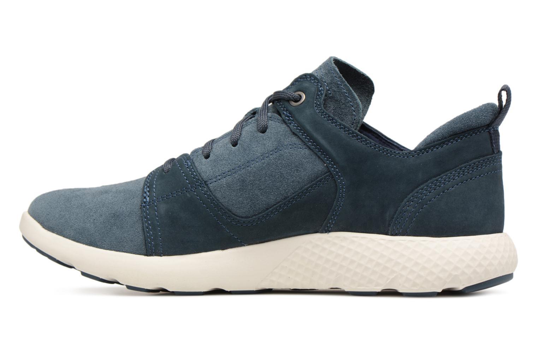 Sneaker Timberland FlyRoam Leather Oxford blau ansicht von vorne