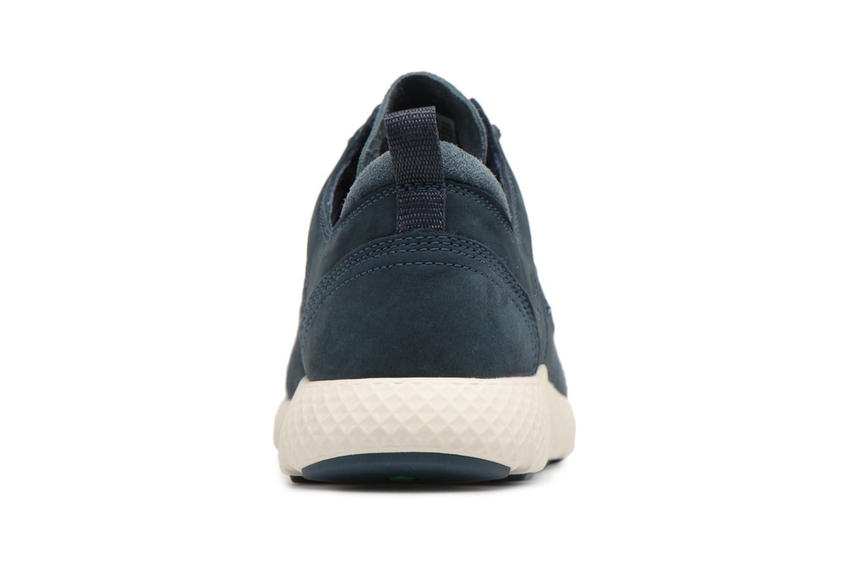 Sneaker Timberland FlyRoam Leather Oxford blau ansicht von rechts