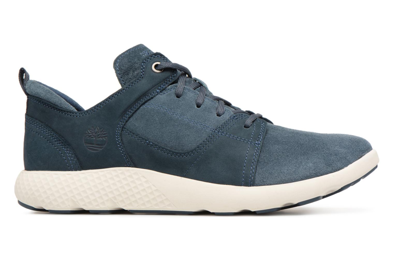 Sneaker Timberland FlyRoam Leather Oxford blau ansicht von hinten