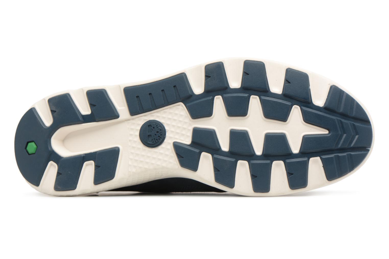 Sneaker Timberland FlyRoam Leather Oxford blau ansicht von oben