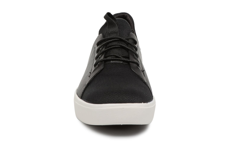 Sneaker Timberland Amherst Lthr LTT Sneaker schwarz schuhe getragen