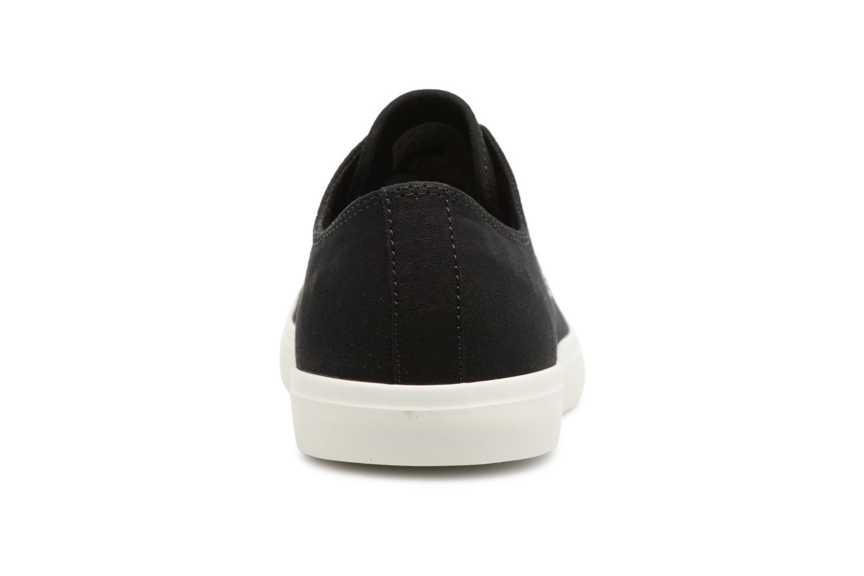 Sneaker Timberland Union Wharf Lace Oxford schwarz ansicht von rechts