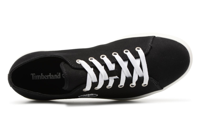 Sneaker Timberland Union Wharf Lace Oxford schwarz ansicht von links
