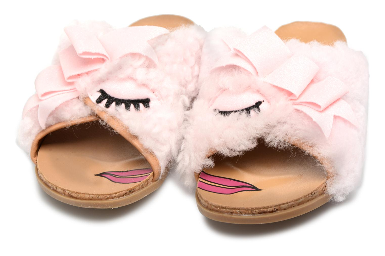 Sandales et nu-pieds UGG Stacee Rose vue 3/4
