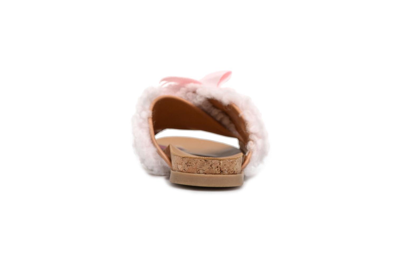 Sandales et nu-pieds UGG Stacee Rose vue droite