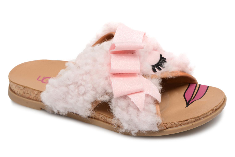 Sandales et nu-pieds UGG Stacee Rose vue détail/paire