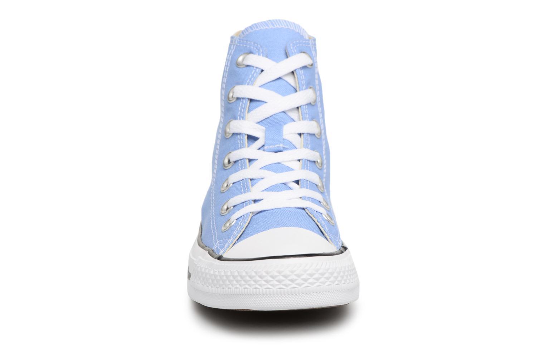 Baskets Converse Chuck Taylor All star Classic 157615C W Bleu vue portées chaussures