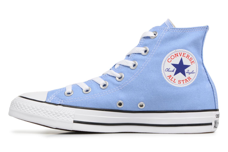 Baskets Converse Chuck Taylor All star Classic 157615C W Bleu vue face