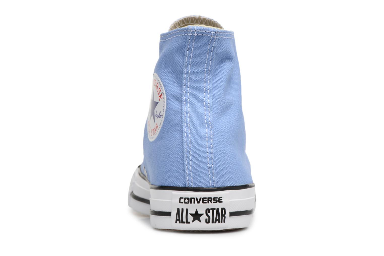 Baskets Converse Chuck Taylor All star Classic 157615C W Bleu vue droite
