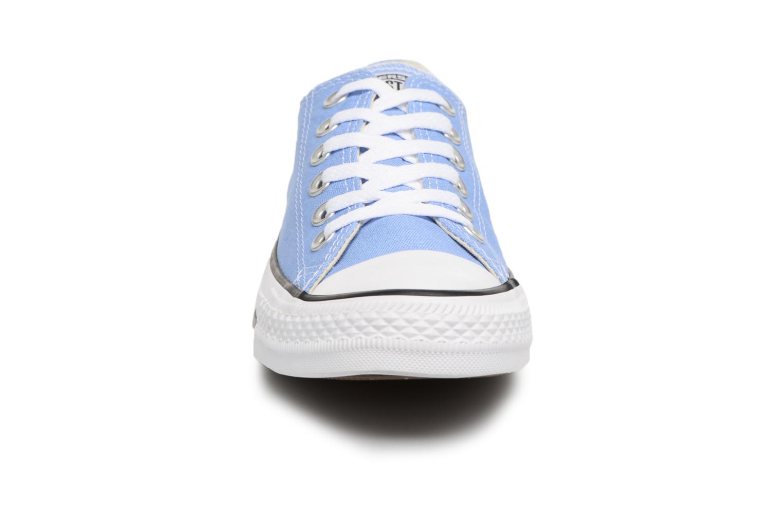 Baskets Converse Chuck Taylor All star Classic 157650C w Bleu vue portées chaussures