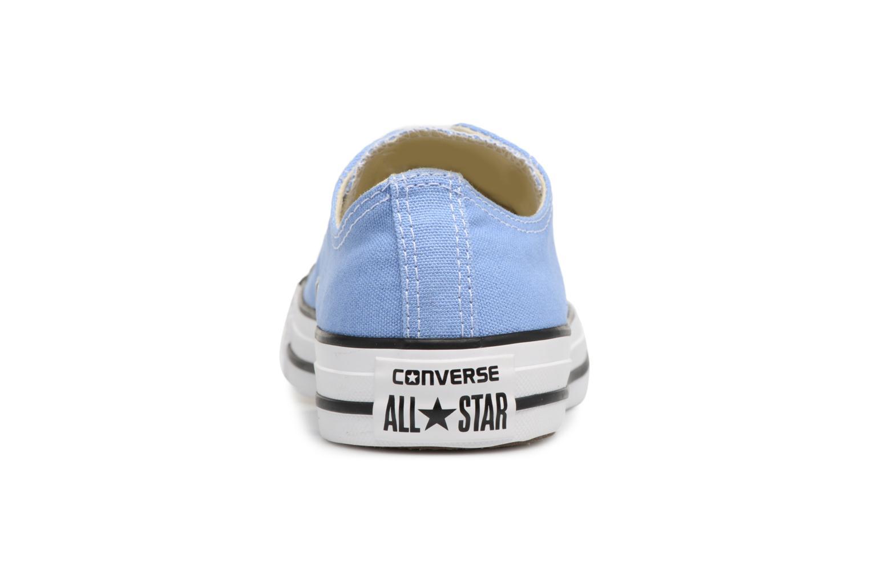 Baskets Converse Chuck Taylor All star Classic 157650C w Bleu vue droite