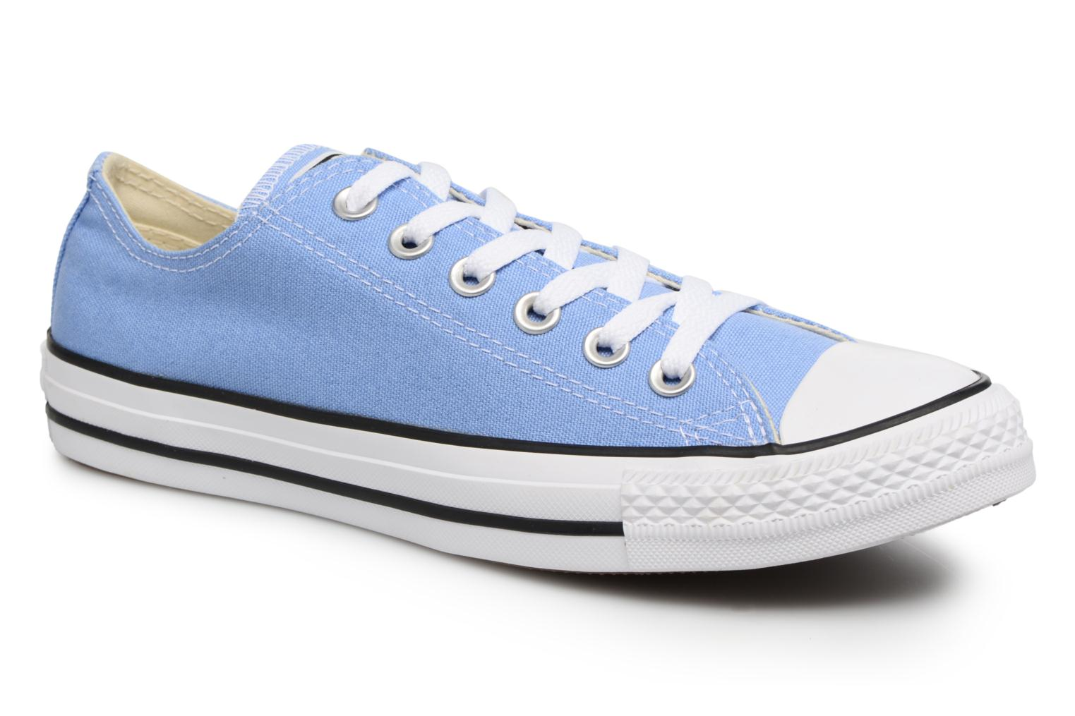 Sneaker Converse Chuck Taylor All star Classic 157650C w blau detaillierte ansicht/modell